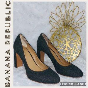 Banana Republic • Wool Block Heel Pumps • 7.5